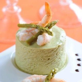 Bavarois aux asperges et aux crevettes : Toutes les recettes et conseils de cuisine