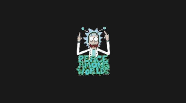 Peace Among Worlds Rick And Morty Rick And Morty Cute Laptop Wallpaper Rick And Morty Poster