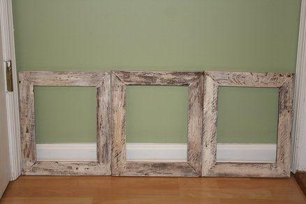 pallet wood rustic picture frames - by FredIV @ LumberJocks.com ~ woodworking community