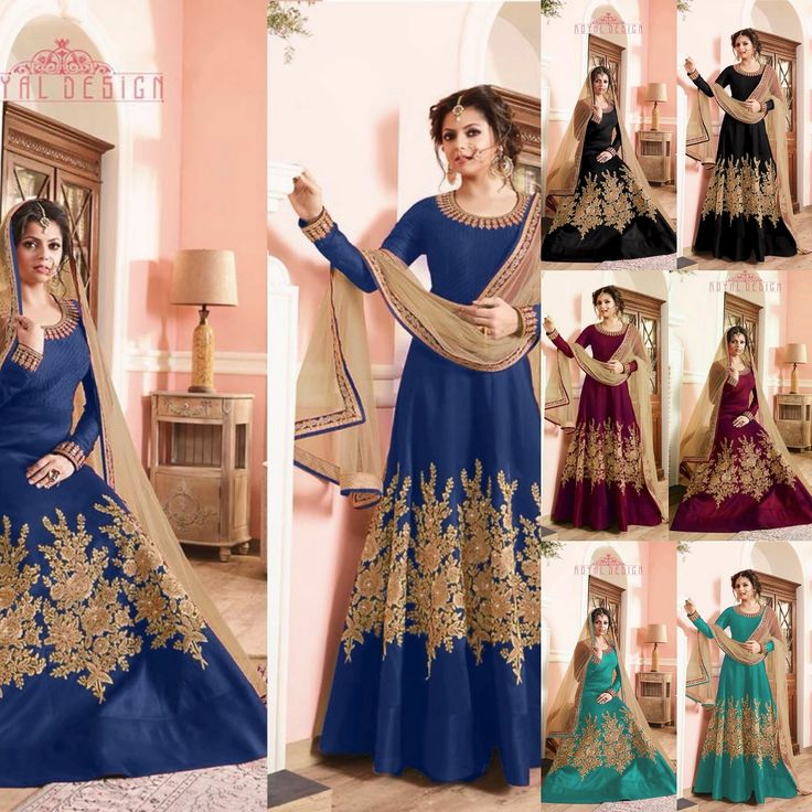 Drashti Dhami New Designer Anarkali Suit  Product Info : Top : Banglori silk  Choli : Banglori silk  Duppata : mono net with lace  Price : 1850 INR Only ! #Booknow  CASH ON DELIVERY Available In India !  World Wide Shipping ! ✈  For orders / enquiry  WhatsApp @ +91-9054562754 Or Inbox Us , Worldwide Shipping ! ✈ #SHOPNOW  #indianwear #ethnicwear #bollywood #dress #outfit #salwarkameez #saree #lehengacholi #style #fashion #love #look #bridal #weddinginspiration #usa #uk #canada