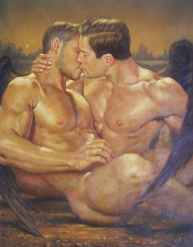 gay scifi art