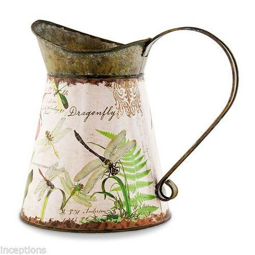Michel Design Works Purely Decorative Tin Watering Can