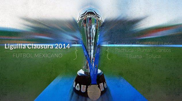 Poster oficial de la Liguilla Clausura 2014 del futbol mexicano Liga MX | Ximinia