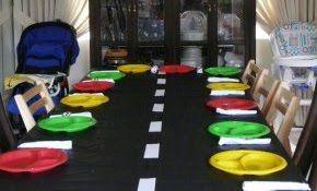 race car table... super easy