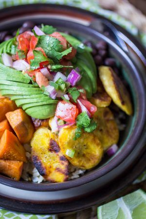 vegan cuban bowl rezept food pinterest. Black Bedroom Furniture Sets. Home Design Ideas