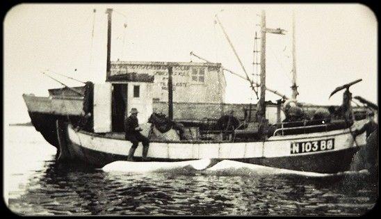 "Mk ""Heim"" N-103-Bø Tilhørte Ludvig Endresen, Guvåg."