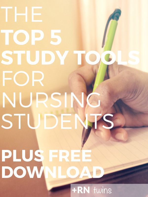 Is studying for your nursing school classes harder than you thought? Are you not making the grade with your textbook and class notes? Click through to discover the Top 5 MUST HAVE study tools every nursing student needs to excel! Includes FREE Study Tools PDF checklist!
