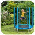 Plum 4.5ft Junior Trampoline Blue