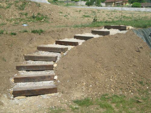 17 meilleures id es propos de escalier de jardin sur for Marche escalier exterieur jardin