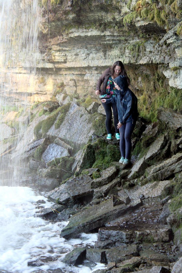 Sometimes I feel like a waterfall #PV Šis nav mūsu dzīves kritums, tas ir īsts ūdens kritums, jo tāds ir mūsu dzīves ritms #ahha #waterfall #estonia #travel #roadtrip #fun #summer