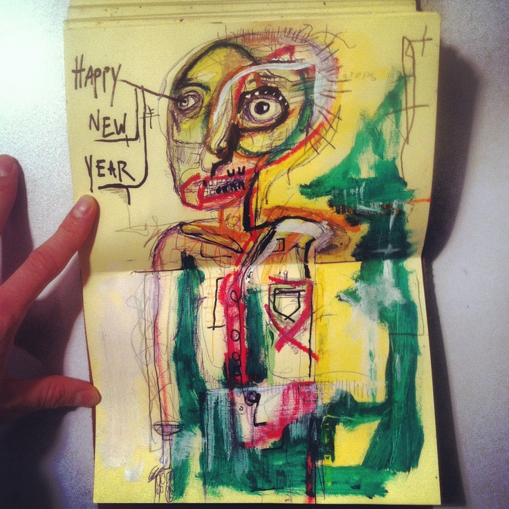Neo expressionism by Houston Christopherson   Sketch book