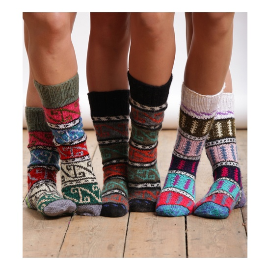 Turkish socks knitted Knit / Crochet Inspirations Pinterest Patterns, K...