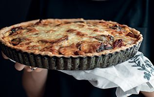 Une tarte qui goûte comme la lasagne!