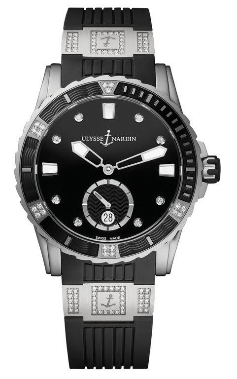 Ulysse Nardin 3203-190-3C/12.12 Lady Diver 40 mm. #ulyssenardin