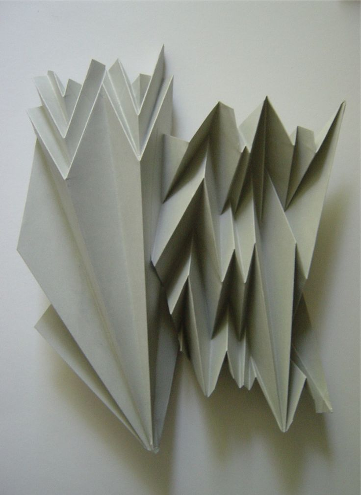 197 best origami architecture images on pinterest for Architecture origami