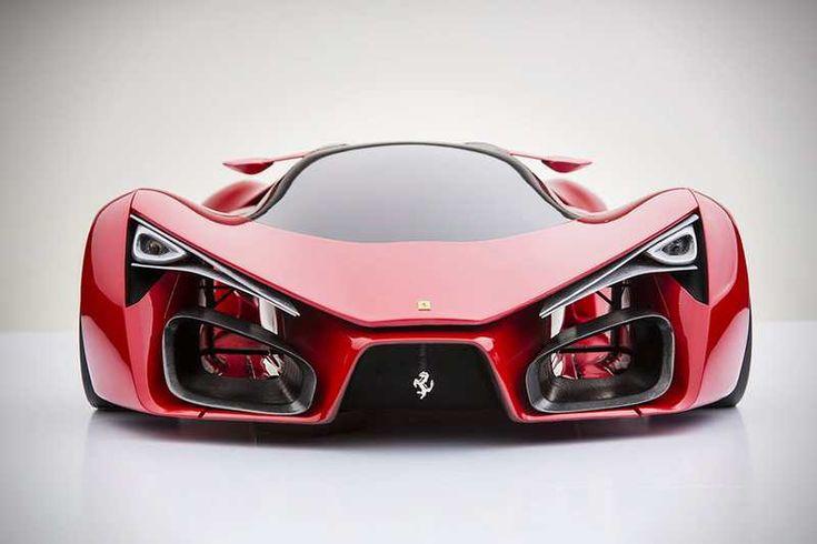 The unique Ferrari...