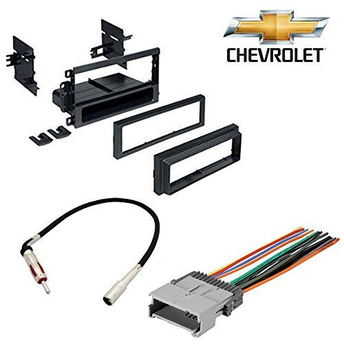 CHEVROLET 2003 - 2006 SILVERADO 1500 CAR STEREO CD PLAYER DASH INSTALL MOUNTING KIT WIRE HARNESS RADIO ANTENNA #CHEVROLET #SILVERADO #STEREO #PLAYER #DASH #INSTALL #MOUNTING #WIRE #HARNESS #RADIO #ANTENNA