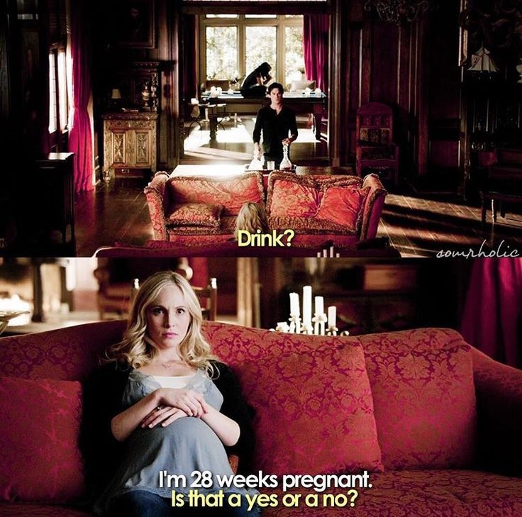 The Vampire Diaries' humour. This relationship between love and hate make me smile!