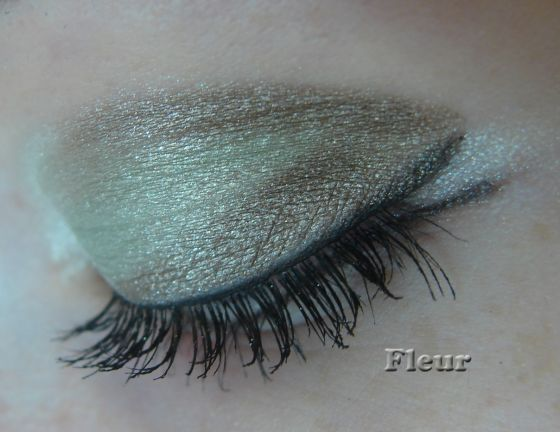 Чарующий мятный макияж