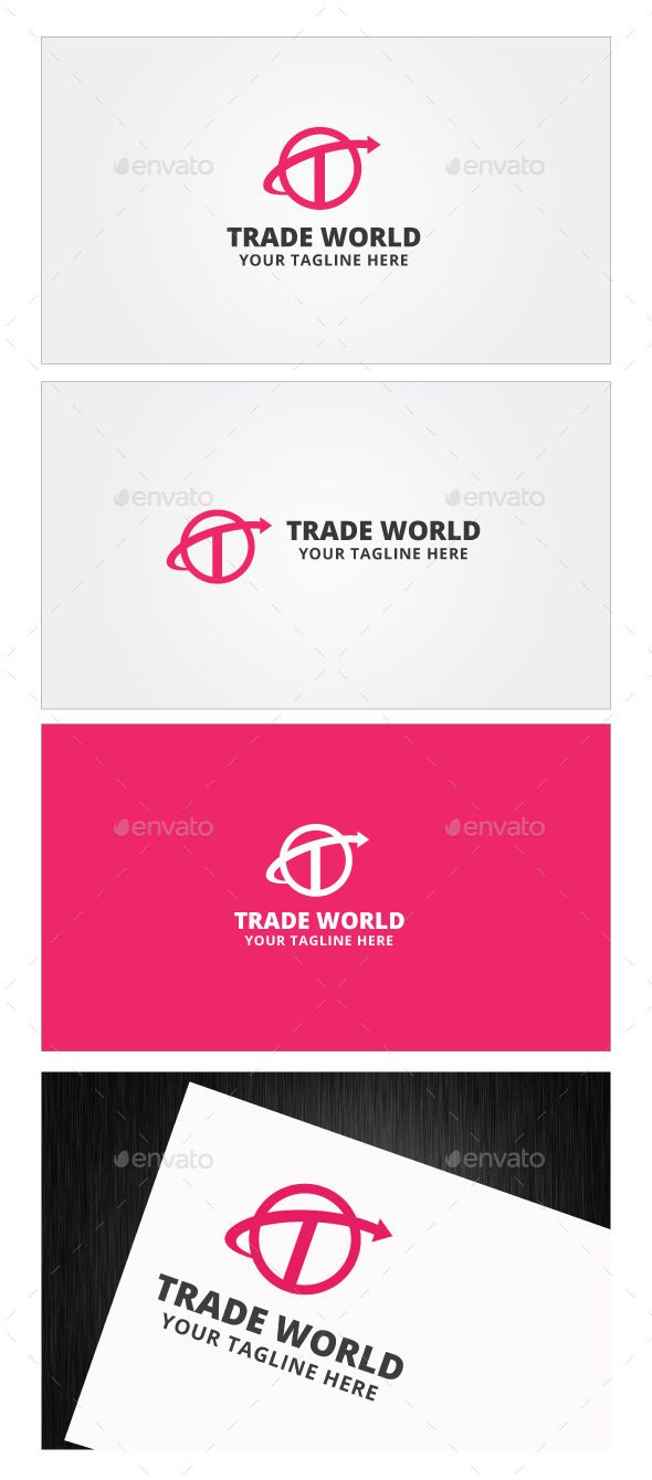 Trade World Logo Template — Photoshop PSD #system #fitness • Available here → https://graphicriver.net/item/trade-world-logo-template/9089760?ref=pxcr