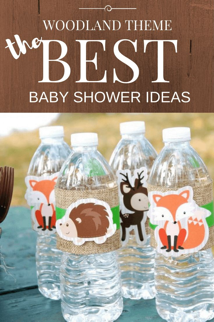 The best woodland baby shower theme ideas!