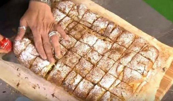 Η Καλύτερη Συνταγή για Μπουγάτσα με Κρέμα. Θα τη λατρέψετε! Ποιος μπορεί να αντισταθεί σε μια μπουγάτσα με πλούσια κρέμα και πασπαλισμένη με άφθονη άχνη ζάχαρη και κανέλα; Φτιάξτε την πρωί πρωί για το πρωινό και το κολατσιό στο σχολείο και το γραφείο και δε θα το μετανιώσετε. Υλικά 2 φύλλα σφολιάτας Για την κρέμα ...The post Η Καλύτερη Συνταγή για Μπουγάτσα με Κρέμα. Θα τη λατρέψετε! appeared first on fumara.gr.