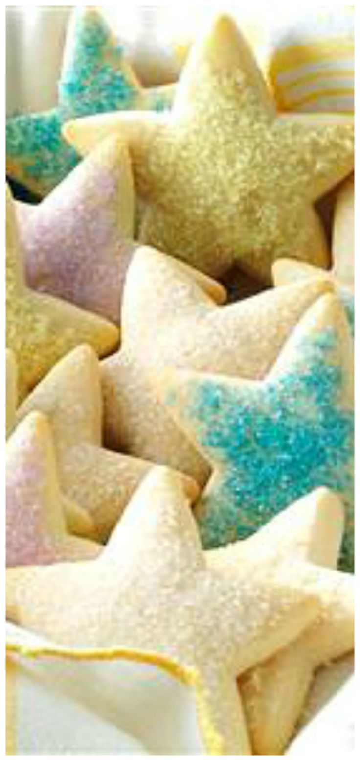 Soft Sugar Cookie Puffs ~ Delicious cake-like cookies.
