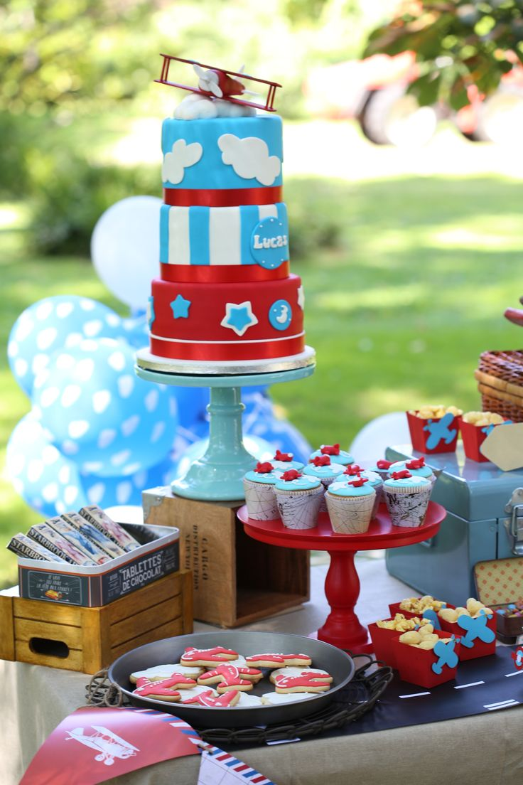 188 best Airplane Birthday Party images on Pinterest Birthday