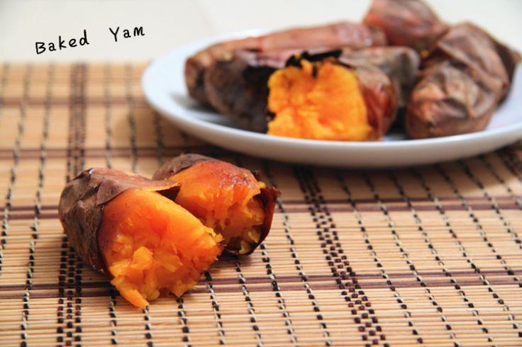 baked yam