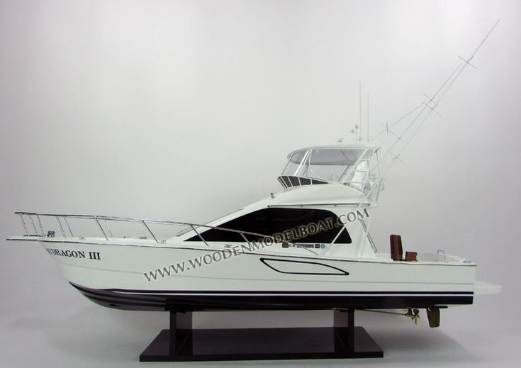 Hand-crafted  yacht model Toyota Ponam 45
