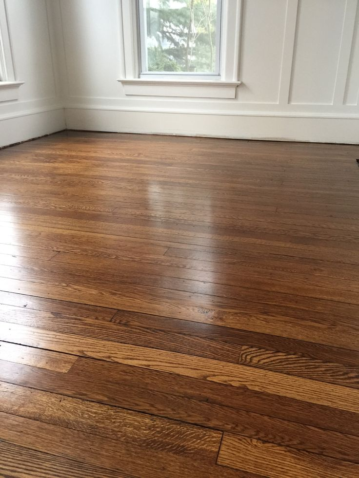Antique White Oak With Minwax Special Walnut And Lenmar