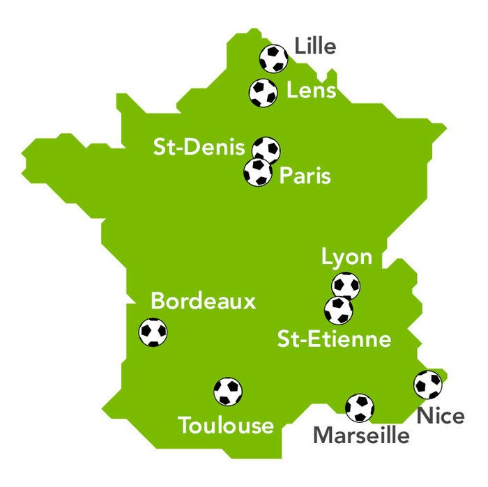 UEFA EURO 2016 in France - Voyages-sncf