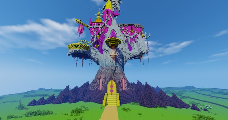 #994760 - brohoof.com, minecraft, ponyville, safe, twilight's castle - Derpibooru - My Little Pony: Friendship is Magic Imageboard