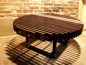 cool coffee table.: Coffee Tables