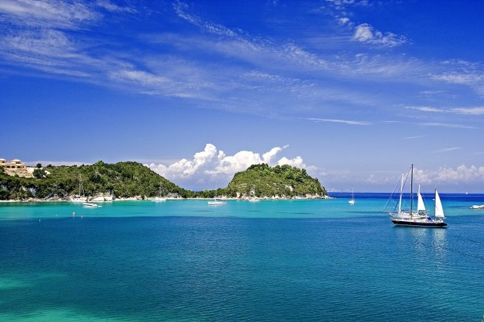An island in the Caribbean or Paxi island?? :)