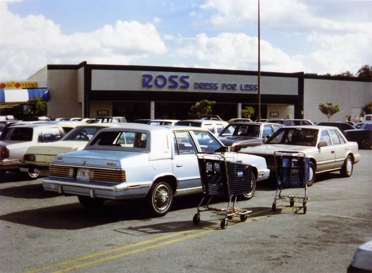 Ross store; Sanford FL 1988 [3591x2646]