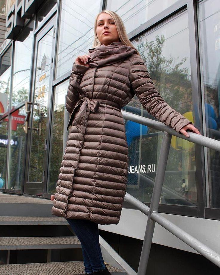 Утепляемся!☺️  Пуховик+снуд=12350₽.  Цвета - капучино.,  синий.,чёрный 🌦🍂🍁  #шериф#красноярск#осень#женскаяколлекция👸#большойвыбор👍#всевналичии#магазин#мода#красота#shop#shopping#instagood#instagramer#krasnoyarsk#girl#приглашаемзапокупками🛍