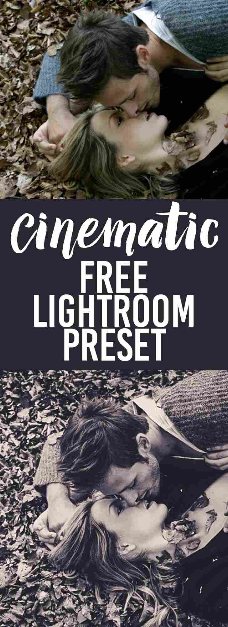 Free Lightroom Presets Cinematic