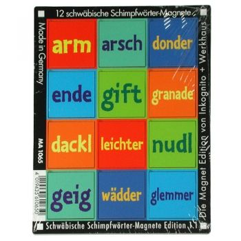 Werkhaus Shop - Schwäbische Schimpfwörter - Edition 1.1