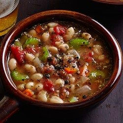 This hearty bean and barley soup tastes like it has simmered for hours, but actually it's quite quick to throw together. Plus this recipe for healthy bean and barley soup freezes beautifully. If you have cooked barley on hand, omit the quick-cooking barley and stir in 1 1/2 cups cooked barley along with the broth in Step 2.