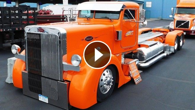435+Hp+Caterpillar+Engine+Powered+Chopped+1995+Peterbilt+379+Is+Worth+to+See+-+This+year,+2016+Auctions+America+fall+sale+in+Auburn,+Indiana+offered+us+a+magnificent