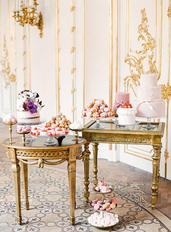 Elegant Marie Antoinette inspired wedding
