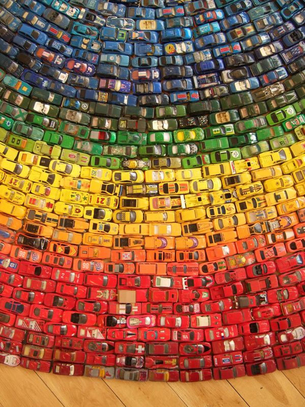 What would you do with that many toy cars?