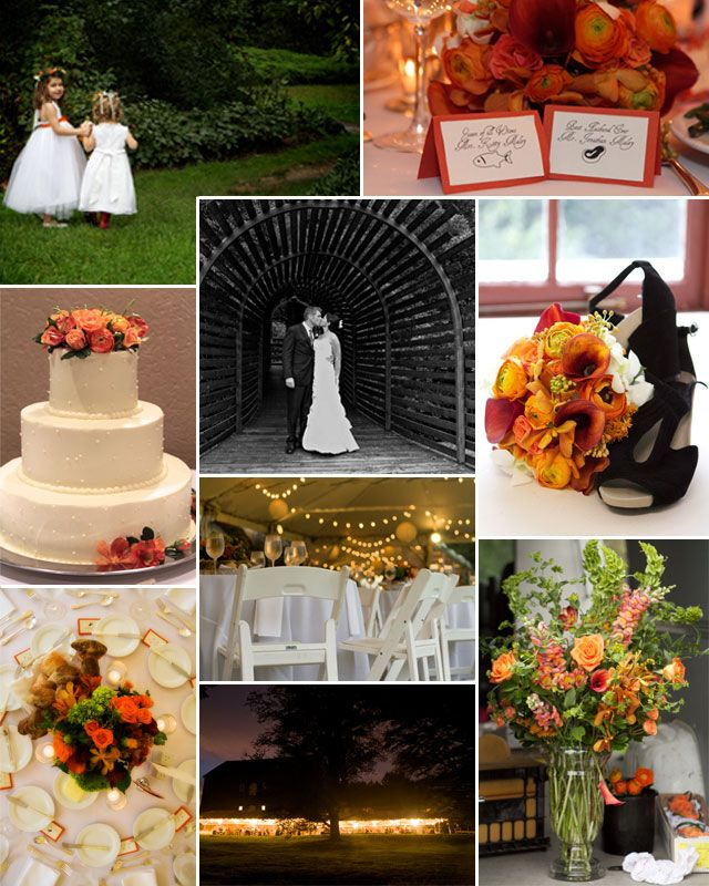 This lovely couple got married in media pennsylvania at Places to have a fall wedding