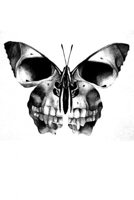 Tattoo butterfly skull ideas 34 Ideas