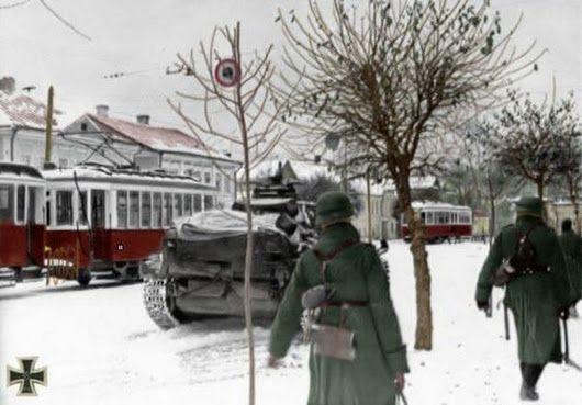 Panzer III near Moscow, winter 1941/42.