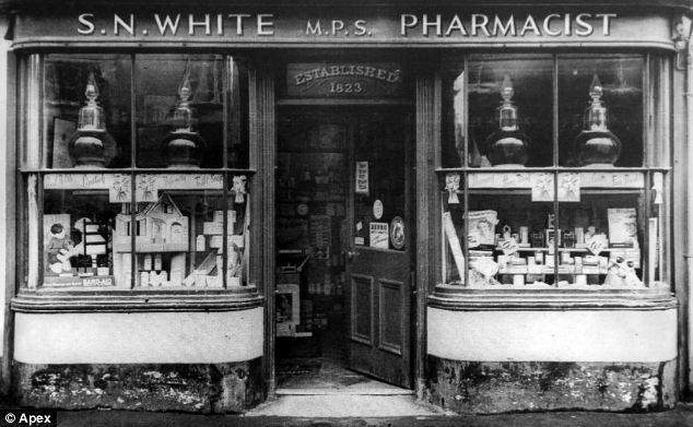 Has come vintage pharmacy photographs impossible