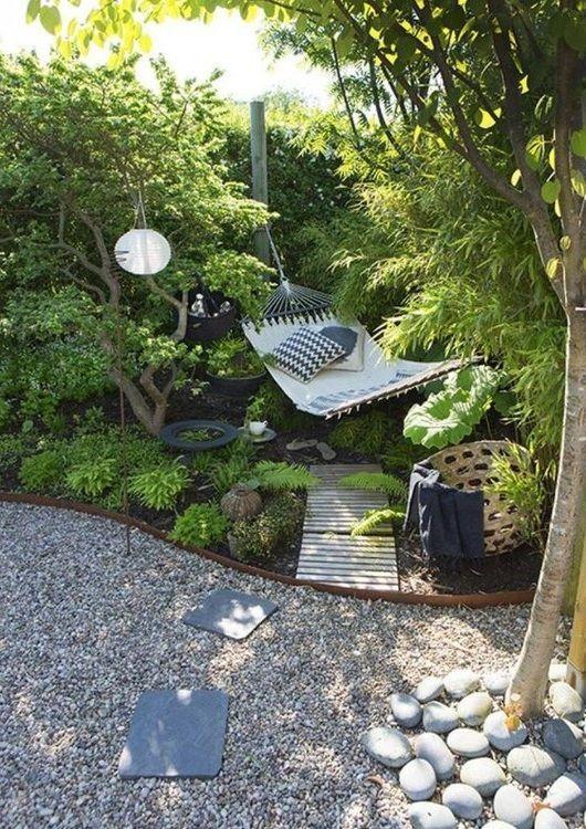 Aménagement d'un petit jardin : 16 idées et inspirations Back Gardens, Small Gardens, Outdoor Gardens, Backyard Patio, Backyard Landscaping, Backyard Makeover, Dream Garden, Garden Planning, Beautiful Gardens