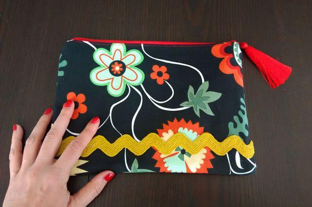 Costura fácil: bolso de mano