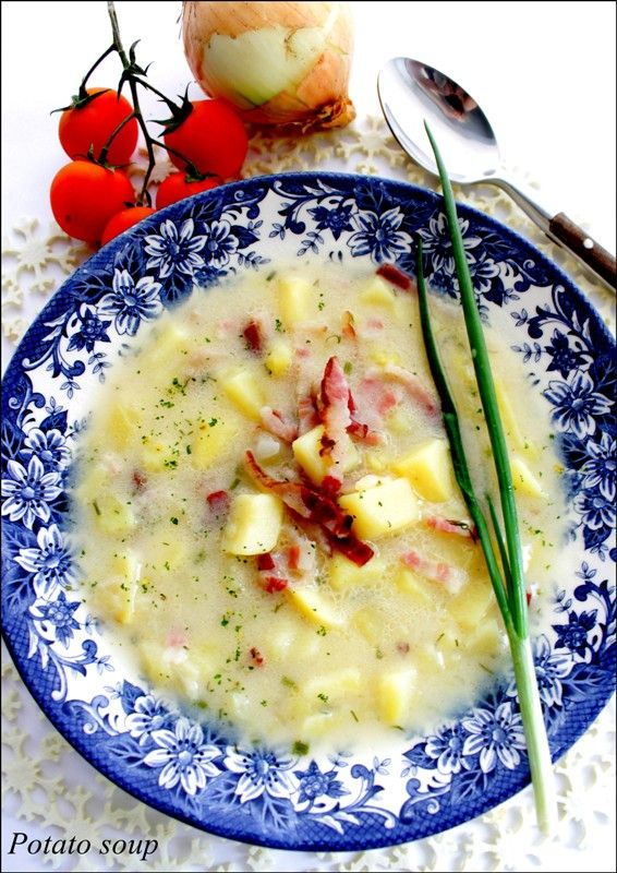 Деревенский картофельный суп